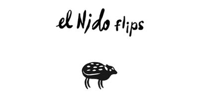 EL NIDO FLIPS ロゴ