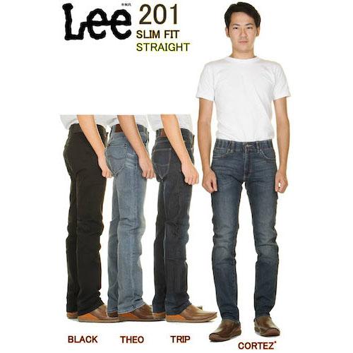 Lee 201 SLIM FIT STRAIGHT