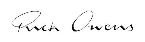 Rick Owens ロゴ