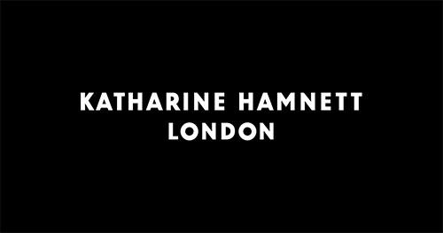 KATHARINE HAMNETT LONDON ロゴ