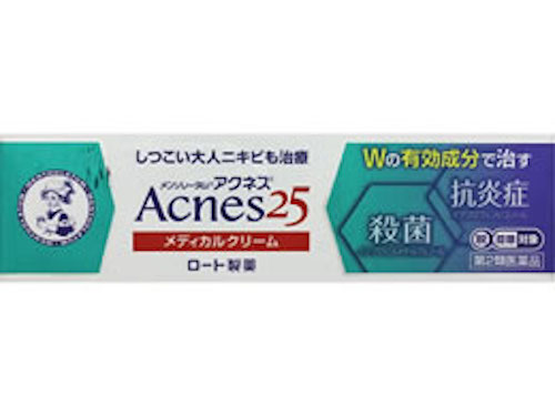 ロート製薬/メンソレータムアクネス25メディカルクリーム