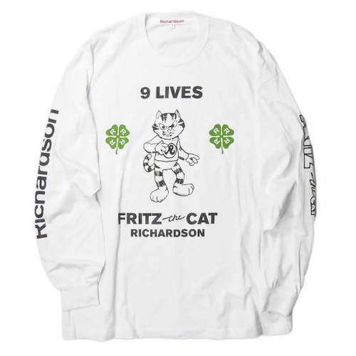Fritz The Cat 9 Lives Long Sleeve Tee