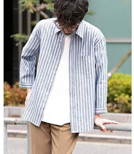クールリネン七分袖シャツ