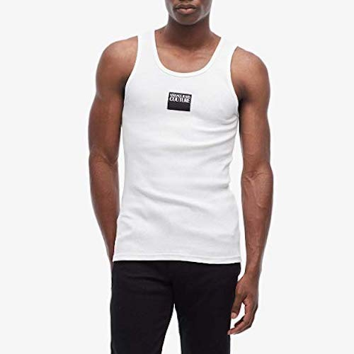 Versace Jeans Couture Ribbed Tank Top