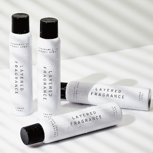 LAYERED FRAGRANCE UV ENERGY SPRAY