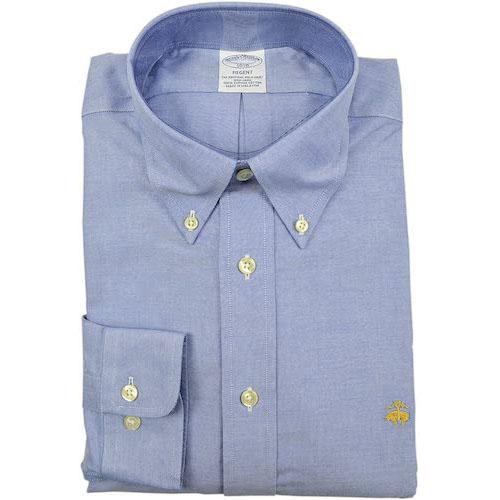 Brooks Brothers/リージェントスリムフィットスピマボタンダウンシャツ