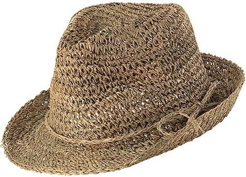 ストローハット Fedora Hat