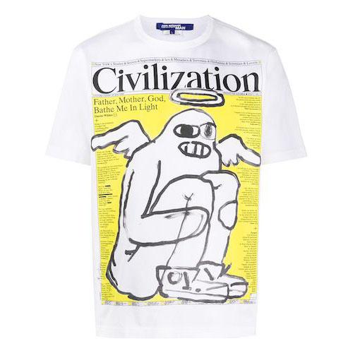 グラフィック Tシャツ WET003S20