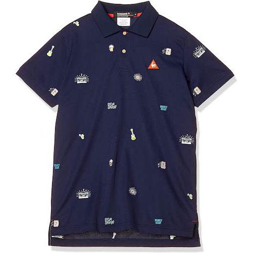 クーリストアイコン刺繍ポロシャツ