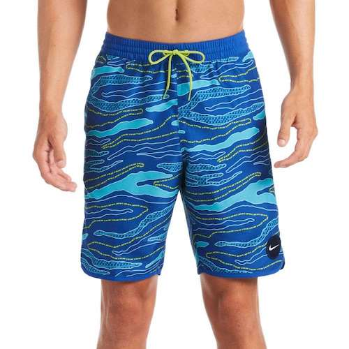 Just Do It Camo Diverge Volley Swim Trunks