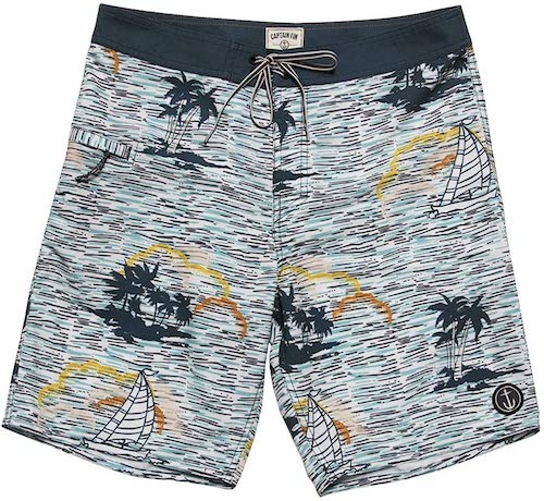 CAPTAIN FIN/WIND MOTHER BOARDSHORTS