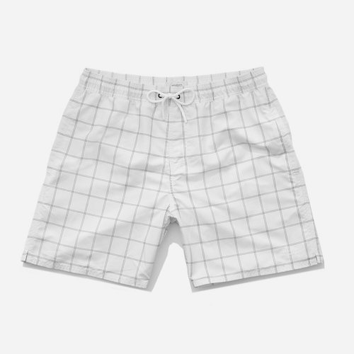 Timothy Window Pane Swim Shorts