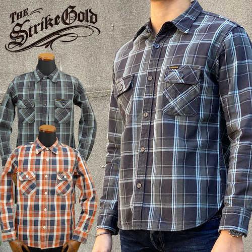 ヘビーネルチェックワークシャツ 「SGS1902」