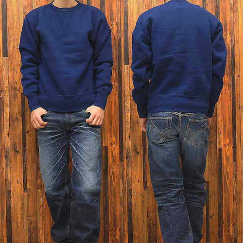 Indigo Dyed LoopWheel Sweat「SGC001ID」