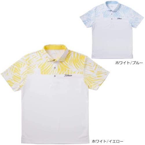ボタニカル柄ブロックシャツ TSMC1924