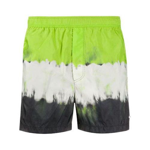 tie-dye print swim shorts