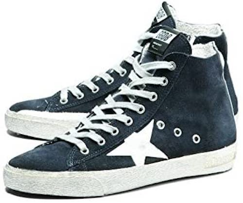 GOLDEN GOOSE/41 NAVY SUEDE