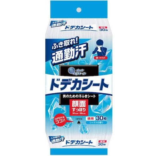 エリエール/汗拭きシート 顔・ボディ ドデカシート for MEN