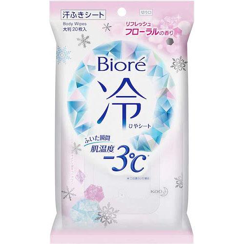 ビオレ/冷シート フローラルの香り 大判20枚入