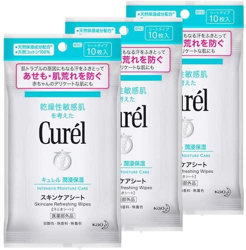 Curel/スキンケアシート10枚入り