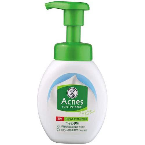 メンソレータム/アクネス ニキビ予防薬用ふわふわ泡洗顔