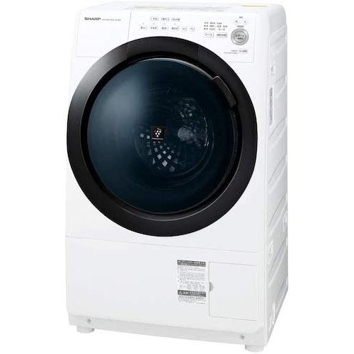 SHARP/ドラム式 洗濯乾燥機 ES-S7E-WL