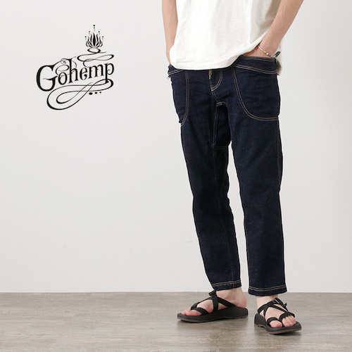 GOHEMP/VENDOR ANKLE CUT PANTS