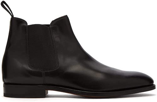 Lawry leather chelsea boots