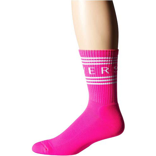 Versace/Text Socks
