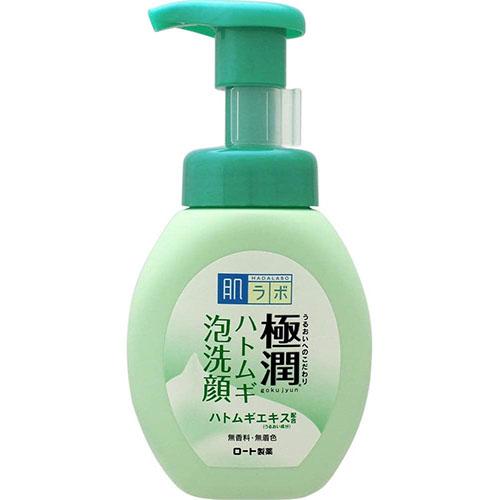 肌ラボ/極潤 ハトムギ泡洗顔