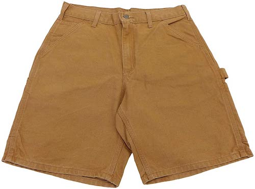 WASHED DUCK PAINTER SHORTS