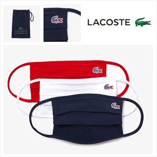 LACOSTE/Pack of Face Masks