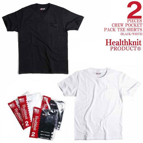 2P POCKET CREWNECK HEALTHKNIT
