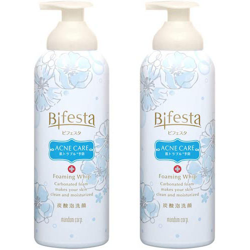 Bifesta/【医薬部外品】泡洗顔コントロールケア セット 180g×2本