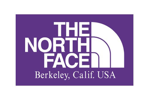 THE NORTH FACE PURPLE LABEL ロゴ