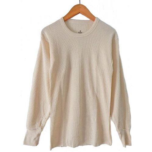 INDERA MILLS/100%コットンサーマルロングTシャツ