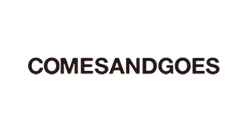 comesandgoes ロゴ