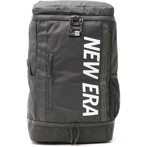 NEWERA/32L BOX PACK グラファイト×ホワイト