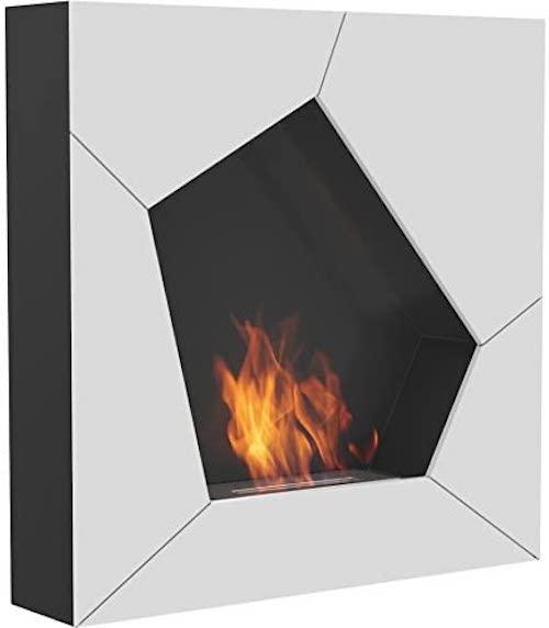 オクラホマ壁マウント暖炉Bioethanol
