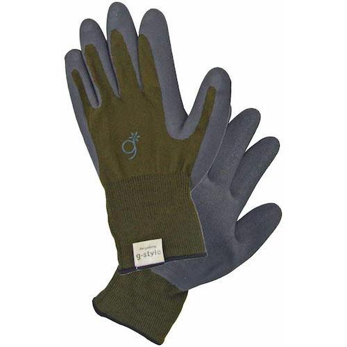 g-style/ガーデニング用手袋ラバーファームオリーブ L