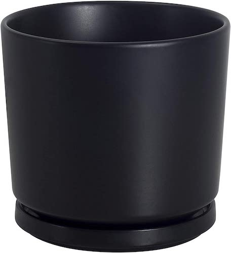 Ekirlin/植木鉢 陶器鉢15cm 受け皿付き