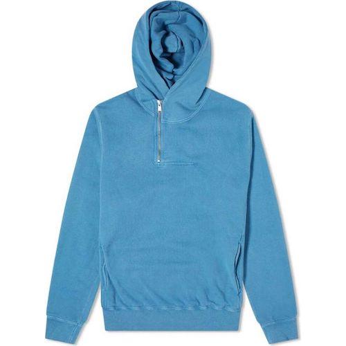 dweller half zip hoody