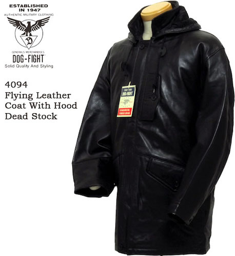 DOG FIGHT(ドッグファイト) FLYING LEATHER COAT