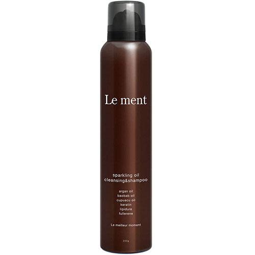 Le ment/sparkling oil cleansing & shampoo