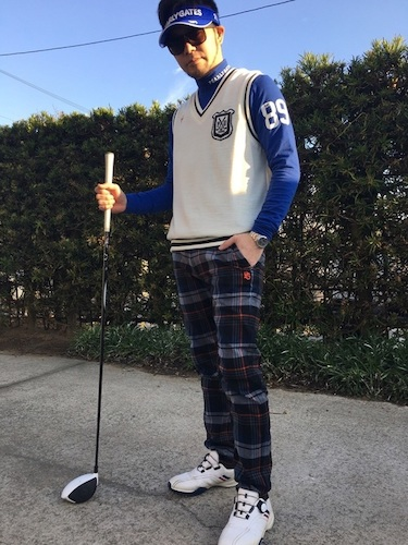 冬 ゴルフウェア