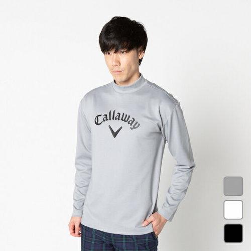 Callaway/ロゴプリントハイネック長袖シャツ