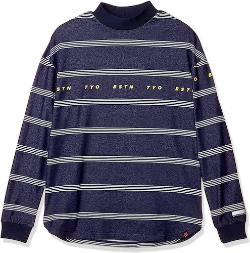 New Balance GOLF/長袖 ハイネックシャツ (COOLMAX: 吸汗速乾性・UPF40+)