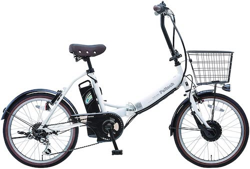 PELTECH(ペルテック)/折り畳み電動アシスト自転車 20インチ折り畳み外装6段変速