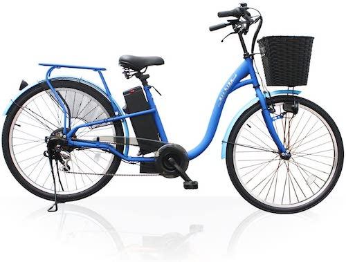 Airbike/電動アシスト自転車26インチトルクセンサー式