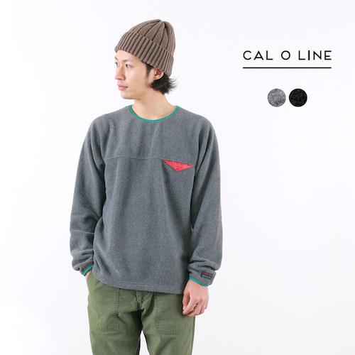 CAL O LINE(キャルオーライン)/ライトウェイトフリースクルーネック